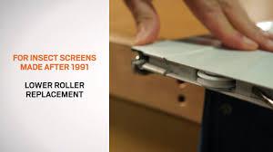pictures of how to adjust sliding door rollers