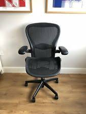 herman miller office chair. HERMAN MILLER AERON (B) BLACK MESH ERGONOMIC OFFICE TASK CHAIR. FULLY LOADED Herman Miller Office Chair