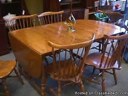 maple dining room table and 6 chairs 94 dining room chairs ethan allen ethan allen with