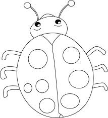 Small Picture Lovely Lady Bug Coloring Page Color Luna