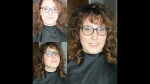 Curly Shag Haircut Makeover