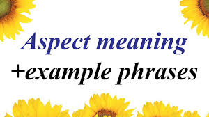 Aspect Aspect Meaning In Urdu Aspect In Hindi English Phrases Translate Into Urdu