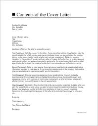 A Cover Letter For Resume Cover Letters For Your Resume Cover Letter