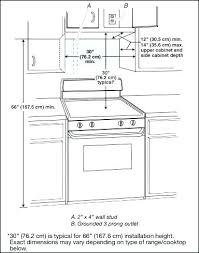 gas stove top cabinet. Stove Top Sizes Burner Gas Measurements Install An Over Range Wolf Microwave Oven Installed A R . Dimensions Cabinet T