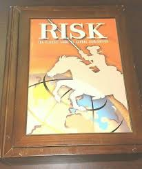 Risk Board Game Wooden Box Stunning RISK PARKER BROTHERS Vintage Wooden Box Bookshelf Board Game