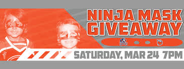 ninja night ninja mask giveaway take pictures with ninjas in the condors photo booth plus the kids will receive condors ninja masks