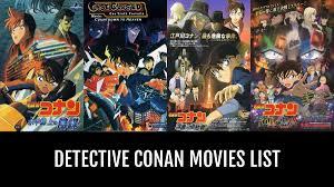 Detective Conan Movies - by Dunsparce