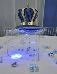 Royal Prince Centerpiece By Flora  Events By Flora  Pinterest Prince Themed Baby Shower Centerpieces