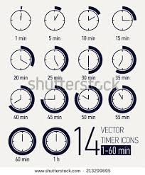 Set Timer For 15 Timer 1 Minutes 1 Min Clock Minute One Timer Icon Egg Timer 1
