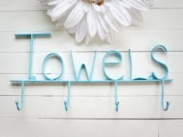 choose color pool sign towel holder pool decor beach outdoor pool towel hooks