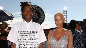 amber rose and wiz khalifa wedding pictures. amber rose implies family didn\u0027t attend wedding because wiz khalifa is african american | entertainment tonight and pictures l