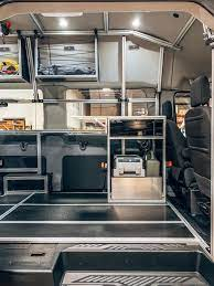 Camper Van With Plug And Play System Vandoit Built On The Ford Transit 350 Xlt Ford Transit Ford Transit Camper Transit Camper