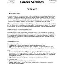Resume Samples Job Objective New Samples Resumes Awesome Resumes For