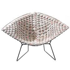 original bertoia diamond chair revisited by clément brazille at