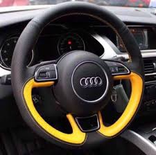 calf leather steering wheel wrap cusotmized to fit car accessories accessories on carou