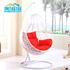 white wicker swing rocking chair swing hanging basket flattered gourd hanging basket chair indoor and outdoor wicker chair white basket in other displays