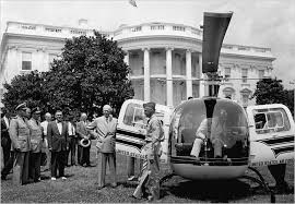 Image result for Marine One and a second decoy helicopter now accompany Air Force One on all presidential trips.