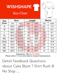 Chest Size Chart Wishshape Chest Size Chart Bust Length Sleeve Size Chartcm