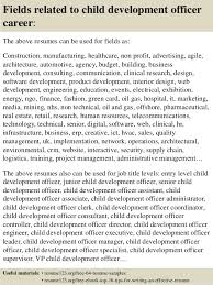 ... 16. Fields related to child development ...