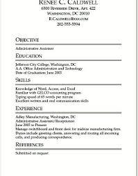 Internship Resume Examples Internship Resume Sample For College