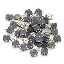 Other Electronics - <b>250Pcs DC12V 4</b> Pins Tact Tactile Push Button ...