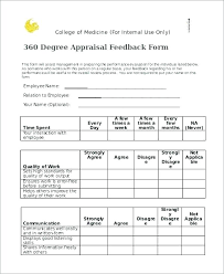 Staff Appraisal Form Template Performance Evaluation Form Template