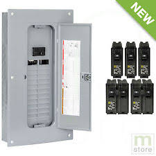 square d 100 amp panel 100 amp breaker panel electrical square d load center 48 circuit 24 space main