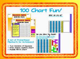 Interactive 100 Chart Free 100 Chart Fun Flipcharts For Promethean Activboard