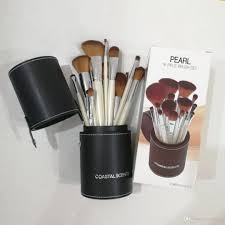 coastal scents professional brush set pearl makeup with black holder case retail package dropship brush sets makeup from mmall 15 74 dhgate