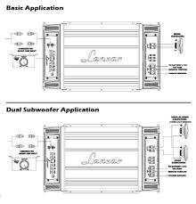 amazon com lanzar maxpd watt monoblock class d amplifier wiring diagram click here for a larger image