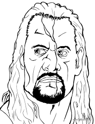 Jeff Hardy Wrestling Coloring Pages Hellokidscom