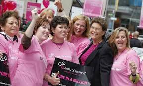 Recruiting an Army of Women to fight breast cancer - Los Angeles ...