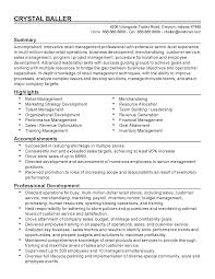 professional retail manager templates to showcase your talent resume templates retail manager