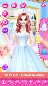 bridal boutique beauty salon wedding makeup dressup and makeover games screenshot 4