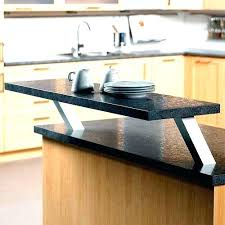 raised glass countertop supports most granite brackets ideas of