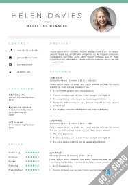 example of good cv layout all cv templates go sumo