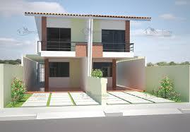 Realizar o sonho da casa própria é o objetivo que muitas pessoas esperam para alcançar. Planta De Casa Geminada Com 5m De Frente Cod 77 Pag 6 So Projetos