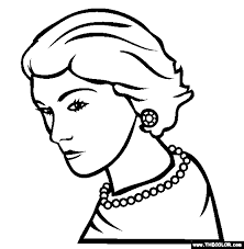 You are able to download this picture, click download image and save. Famous People Online Coloring Pages