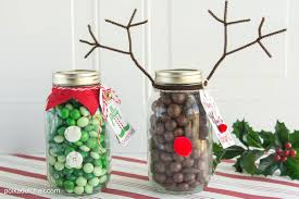 Decorating Mason Jars For Gifts Christmas Mason Jar Gift Idea 32