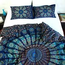 boho duvet covers elegant handmade mandala cover bohemian chic twin xl