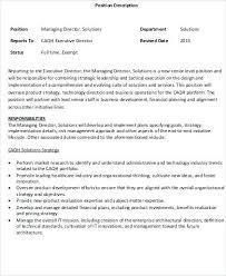 Design Director Job Description Design Manager Job Description Nz ...