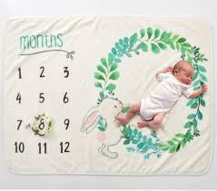11 Month Development Chart Us 11 96 37 Off Life Magic Box Soft Flannel Blanket Baby Development Chart Backdrops 6 Month Milestones Baby Photography Backgrounds In Background