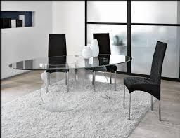 best contemporary glass dining room sets ideas  home design ideas