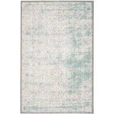 passion turquoise ivory 9 ft x 12 ft area rug