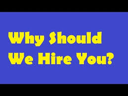 why should we hire you interview question why should we hire you english job interview question