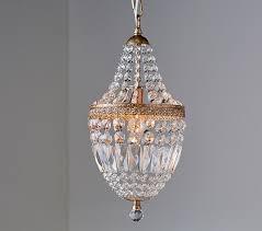 mini crystal chandelier