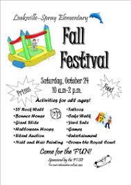 Fall Festival Flier Fall Festival Flier Pto Today