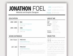 Modern Elegant Font For Resume 20 Free Resume Design Templates For Web Designers Elegant