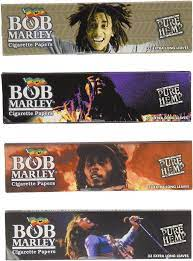Amazon.com: Bob Marley King Size Cigarette Rolling Papers, 4 Packs: Health  & Personal Care