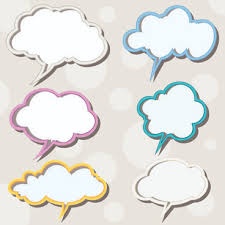 Word Bubble Templates Speech Bubble Clouds Free Vector Download 3 888 Free Vector